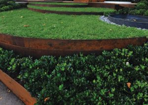 Galvanised Garden Edging landscape supplies