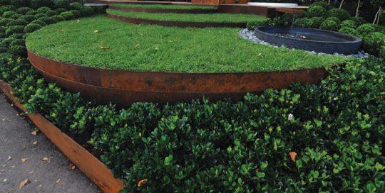 Galvanised Garden Edging landscape supplies